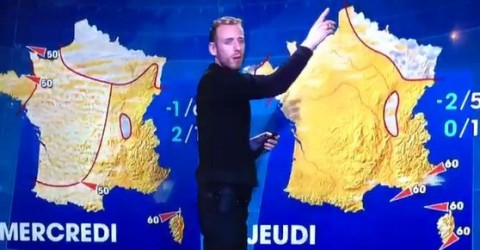 Presentation de la meteo Innovtion et rupture Zapping