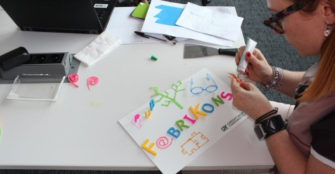 Impression 3D lettres atelier team building