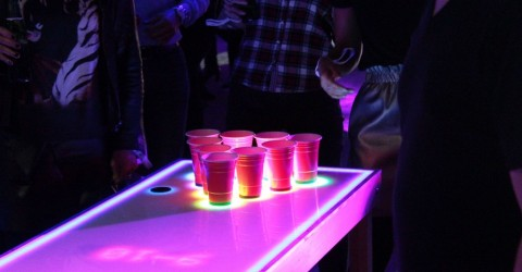jeu motion gaming digibeer pong